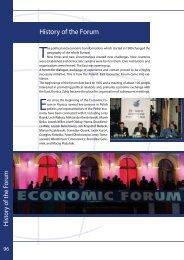 History of the Forum in pdf - Economic Forum