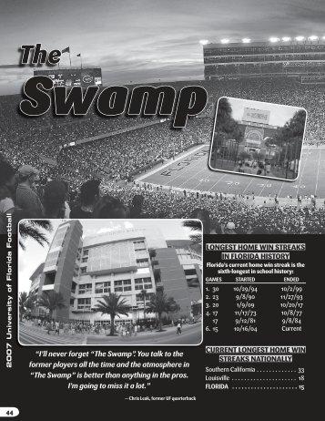 The Swamp?. - GatorZone.com