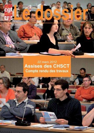 Dossier santé travail - Féderation - La cgt