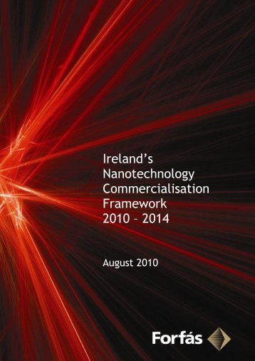 Ireland's Nanotechnology Commercialisation Framework ... - Forfás