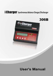 iCharger 306B Manual - RC Station CH