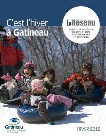 Hiver 2012 - Ville de Gatineau