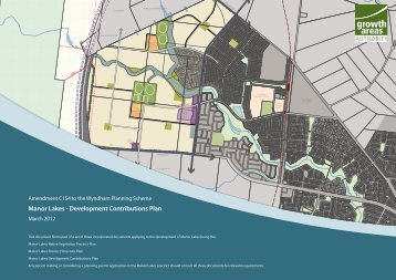 Manor Lakes - Development Contributions Plan - Growth Areas ...