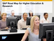 Solutions for Higher Education and Research