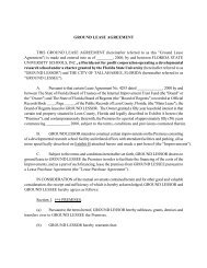 GROUND LEASE AGREEMENT THIS GROUND LEASE AGREEMENT