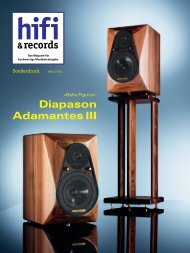 Testbericht Diapason ADAMANTES in der ... - Friends of Audio