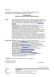 Saalbau Nidda - Der frankfurter ring