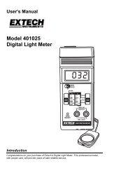 Model 401025 Digital Light Meter