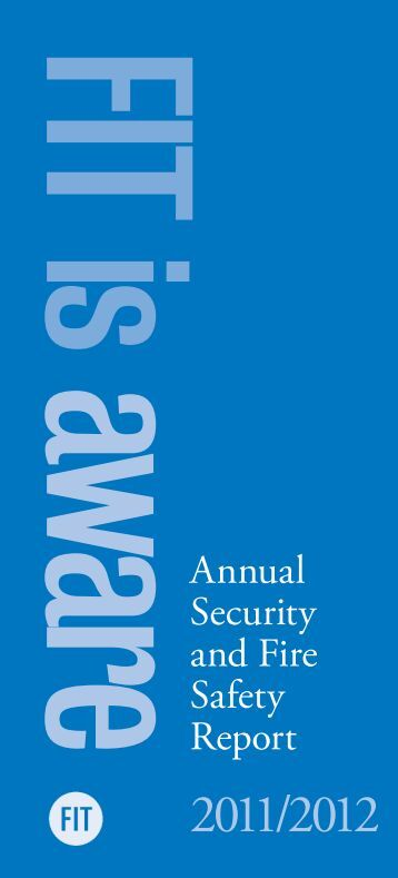 aware Annual Security and Fire Safety Report - Fashion Institute of ...