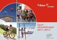 Sport- veranstaltungen 2011-2012