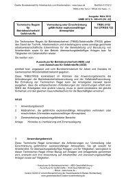 TRBS 2152 Teil 2 / TRGS 722 - Gewerbeaufsicht - Baden ...
