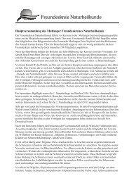 Pressemitteilung Hauptversammlung 2012 - Freundeskreis ...