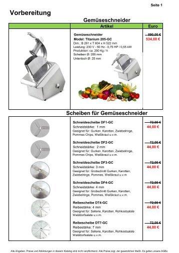 Model: Titanium 205-GC - Gastro-Ausverkauf.de