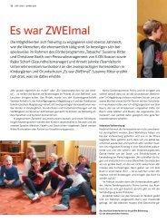 Es war ZWEImal - Freiwilligenagentur Magdeburg
