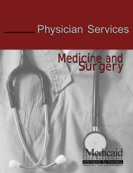 Medicine and Surgery Section - Wisconsin.gov