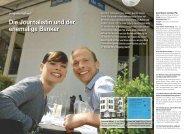 Die Journalistin und der ehemalige Banker - Hotel & Gastro Union