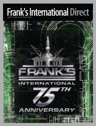 Volume 7, Issue 2 - Frank's International
