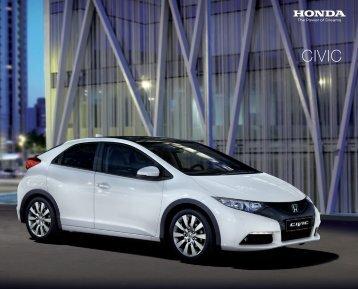 Civic (PDF, 6.7 MB) - Honda