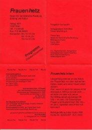 Oktober/November 1994 - Frauenhetz