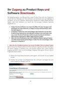 Ihr Zugang zu Product Keys und Software Downloads - FotoWare - Seite 2