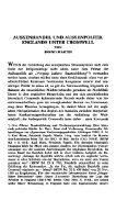 Aussenhandel und Aussenpolitik Englands unter Cromwell - Seite 2