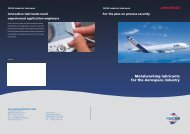 Metalworking lubricants for the Aerospace industry - fuchs europe ...
