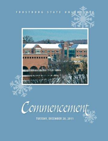 May 08 - Frostburg State University