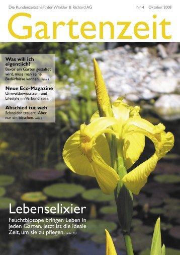Nr. 4 Oktober 2008, PDF 956 KB - Winkler & Richard AG