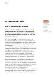 03.07.12. Birte og Peter Jensens Legat uddelt - Gammel Estrup