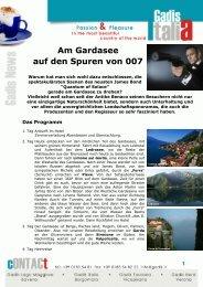 Am Gardasee auf den Spuren von 007