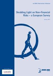 Shedding Light on Non-Financial Risks ? a European Survey