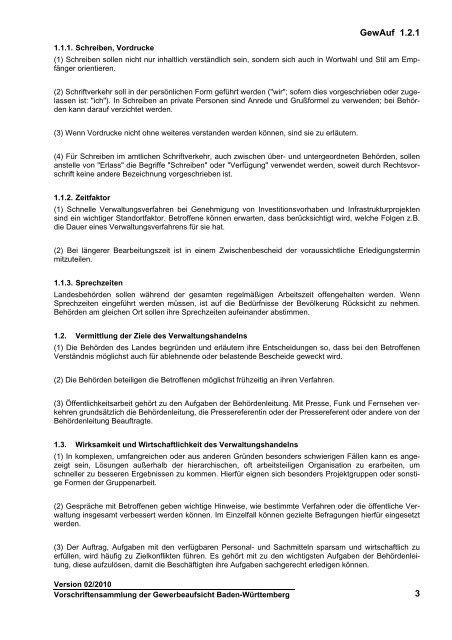 Gemeinsame Anordnung der Ministerien über die Weitergeltung der ...
