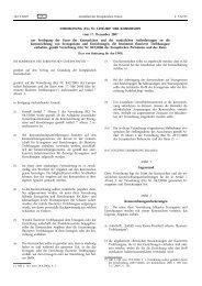 VERORDNUNG (EG) Nr. 1494/2007 DER KOMMISSION ... - EUR-Lex