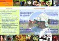 Flyer für Schulklassen - Bund Naturschutz in Bayern eV