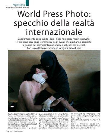 World Press Photo: specchio della realtà internazionale - Fotografia.it