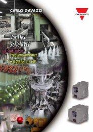VariFlex2 ? Serie RVEF - CARLO GAVAZZI GmbH