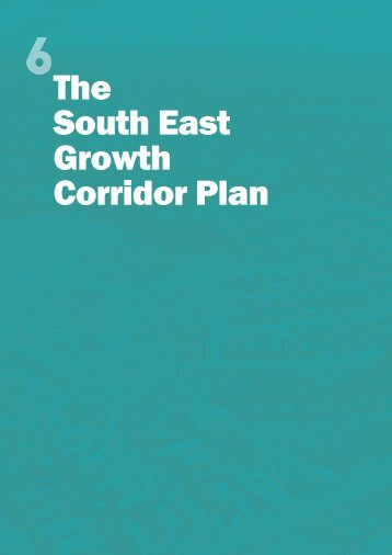 The South East Growth Corridor Plan - Growth Areas Authority
