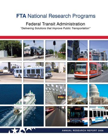 notice - Federal Transit Administration - U.S. Department of ...