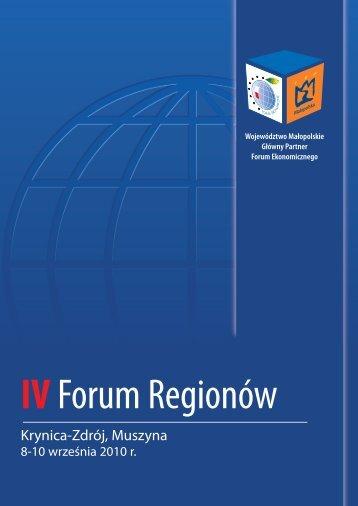 Krynica-Zdrój, Muszyna - Forum Ekonomiczne