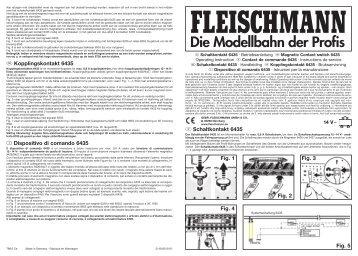 Anleitung - Fleischmann