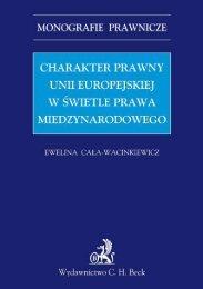 charakter prawny unii europejskiej w świetle prawa ... - Gandalf