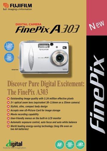 FinePix A303 Digital Camera Brochure - Fujifilm USA