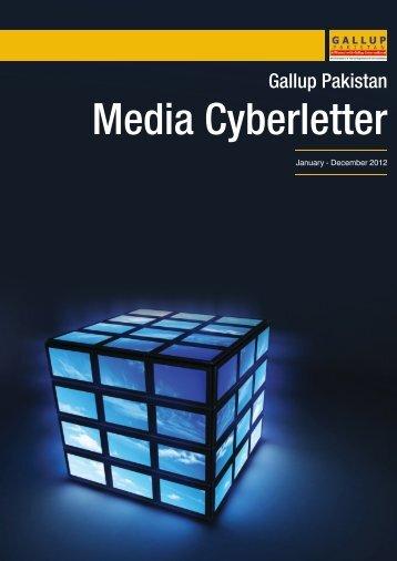 Media Cyberletter - Gallup Pakistan