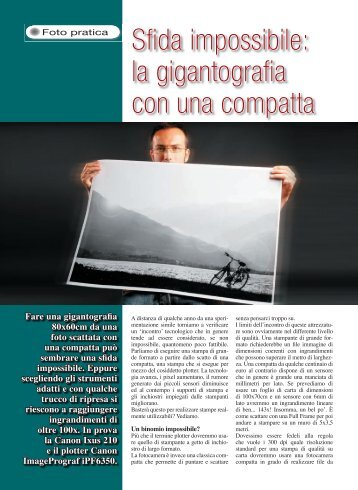 Plotter compatta - Fotografia.it