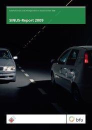 SINUS-Report 2009 - BfU