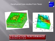 Geophysical Case studies From Texas - Foundation Performance ...