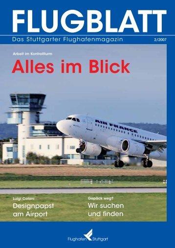 Ausgabe 2/07 - Flughafen Stuttgart