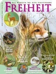 pdf-download der gesamten Ausgabe - Magazin Freiheit für Tiere