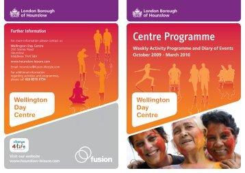 Centre Programme - Fusion Lifestyle