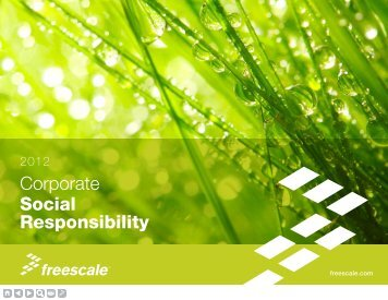 Corporate Social Responsibility - Freescale Semiconductor